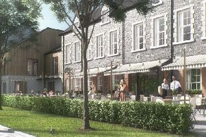 A cafe and other facilities are included within the plans.