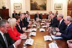 Stormont deal tabled.