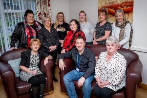 The staff team at Belmont Cottages who have been announced as finalists in the 'Best Housing Story' category of CIH Housing Awards 2020