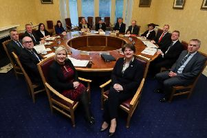 The new Northern Ireland Executive.