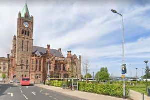 The assault occurred in the Peace Garden, Foyle Street on Tuesday evening. (Photo: Google Maps)