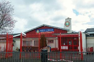 Holy Child Primary School in Creggan, which is to share in a 45m capital investment across the schools estate.