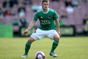 Defender Colm Horgan.