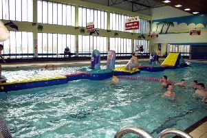 Templemore Sports Complex swimming pools.