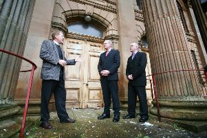 2007...Rev. David Latimer meets with Sinn Fein's Martin McGuinness and Raymond McCartney and asks them to use their influence to have attacks on First Derry Presbyterian Church stopped.