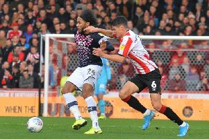 Hatters midfielder Izzy Brown could be back to face Derby tomorrow