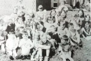 Children from Maryville at a dun day organised by the Good Neighbourhood scheme in 1995.