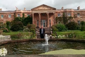 Stephen Martelli, Gardens and Estates Manager at Hillsborough Castle.