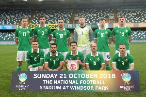 The Northern Ireland team