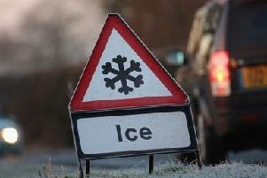 Motorists have been warned of icy conditions.