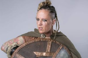 Astrid the Viking. Picture courtesy of John Freemantle