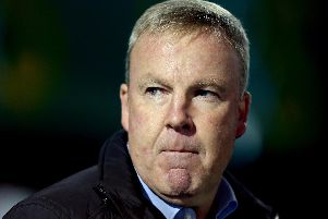 Pompey boss Kenny Jackett.  (Photo by Jordan Mansfield/Getty Images).