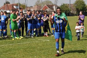 Steyning Town win Division 1 Challenge Cup