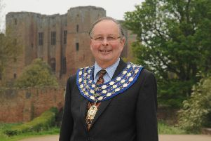 Warwick District Council chairman Cllr George Illingworth during his time as Kenilworth Mayor.