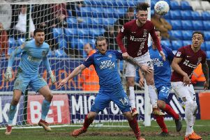 The Cobblers' most recent meeting with Peterborough United was in April, 2018