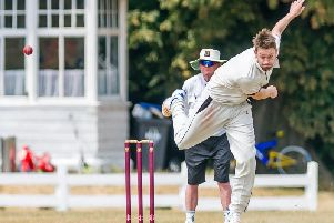 Jon Sage took four wickets for the 1st XI against Streetly