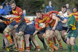 Jack Brooks in action for Stockwood