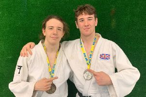 Rush Judo brothers Paddy Lish and Tom Lish, who competed in Holland.