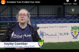 Video: Mind BLMK fundraising manager Hayley Coomber visits Creasey Park.