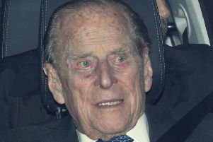 The Duke of Edinburgh who has been involved in a road traffic accident close to the Sandringham Estate but was not injured. Photo: Aaron Chown/PA Wire