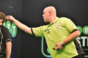 PDC world champion Michael van Gerwen will be in Kettering in April