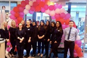 Specsavers Dunstable are raising money for Cancer Research UK