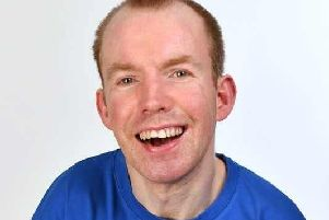 Lee Ridley - known as Lost Voice Guy - is heading to Dunstable