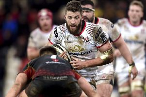 Ulster's Stuart McCloskey starts in the centre against Southern Kings