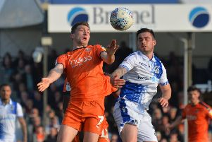 Jack Stacey has been in wonderful form for Luton this season