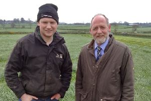 Ulster Grassland Society Jim Freeburn discussed the Society's forthcoming Spring Meeting to be held on 30th April with host farmer Alastair Taylor from Ballymoney