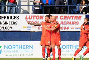 George Moncur apologises to the Oxford fans on Saturday