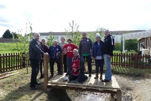 Vauxhall helped clean up the school's pond
