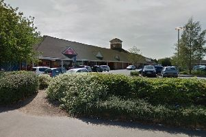 Tesco, Skimpot Road. The woman now says she feels vulnerable when going shopping. Credit: Google Maps.