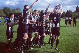 Old Bradwell United lift the County Cup