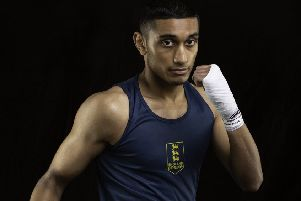 Boxer Jahid Munim is turning pro