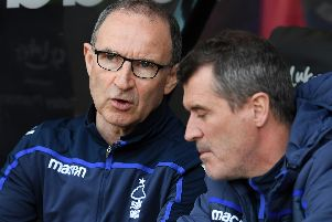 Martin O'Neill is in charge at Nottingham Forest