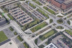 The car park site in Central MK