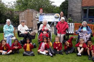 An intergenerational project between Chantry Primary Academy and  Dukeminster retirement home has been boosted by a donation from Nisa Local