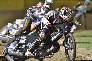 Ricky Wells rides for Panthers against Belle Vue.