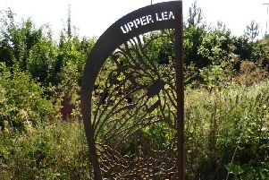 The Upper Lea Valley Way route artwork