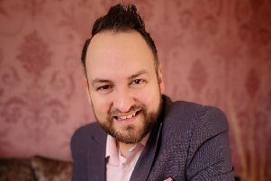 Jonathan Cairns who will be ministering at Ballymoney Church of God this weekend
