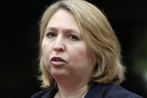 The Secretary of State for Northern Ireland Karen Bradley