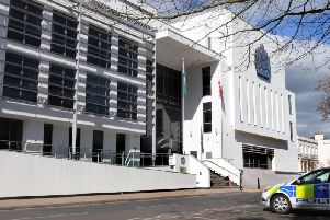 The Justice Centre in Leamington, which is home to Warwick Crown Court.
