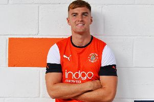 New Luton signing James Bree