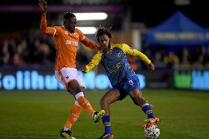 Former Blackpool defender Donervon Daniels is training with Luton