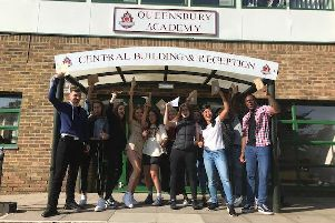 Queensbury Academy students are feeling proud that all of their hard work has paid off.
