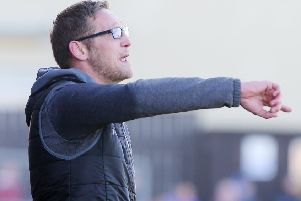 Dungannon Swifts boss Kris Lindsay. Pic by INPHO.