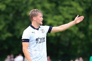 Town midfielder Luke Berry was on target against Brentford B
