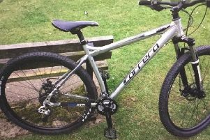 Police have appealed for information to locate the stolen bike.