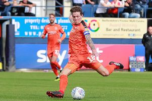 Hatters midfielder Glen Rea could be on the verge of a recall to the first team squad